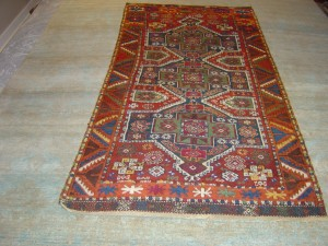 1880's Kurdish Carpet Eastern Turkey