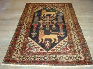 1880's Baktiari Carpet South West Iran