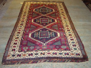 1890's Kurdish Carpet South East Turkey