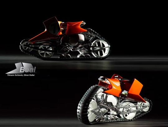 baal tracked motorcycle