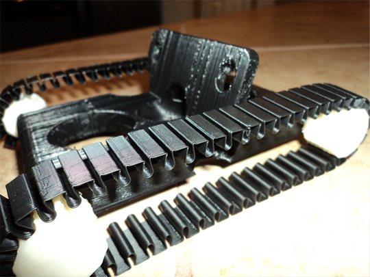 3D Printed ABS Track