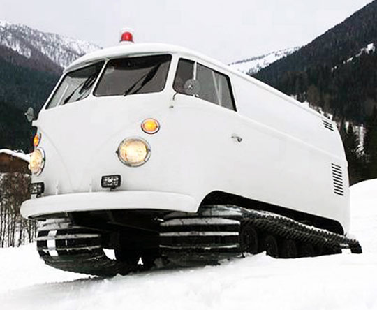 vw snow van