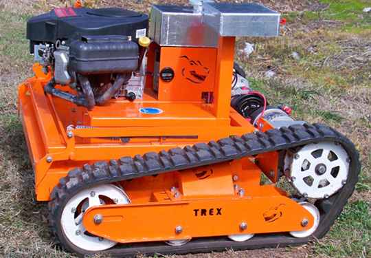 tracked lawnmower