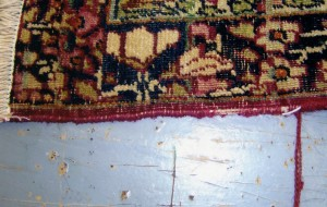 Carpet Binding Before