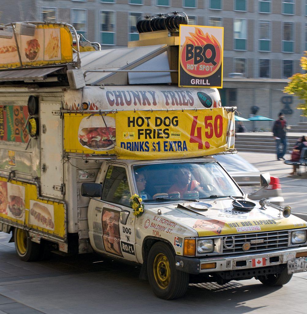 Food truck, University of Toronto 2010
